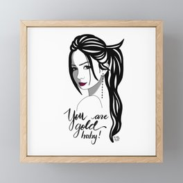 Rose - Love Yourself Collection Framed Mini Art Print