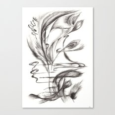 Feather Lover Canvas Print