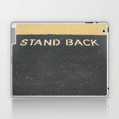 Stand Back Laptop & iPad Skin