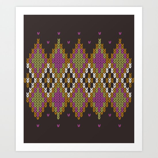 Argyle Dream Art Print