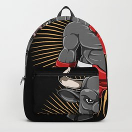 MMA Bull Fighters - MMA And Grappling Backpack