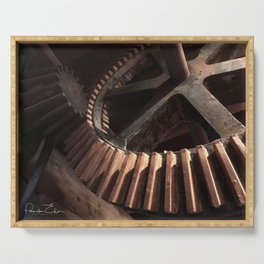 Grist Mill Gears Serving Tray
