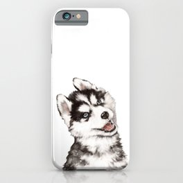 Baby Husky iPhone Case