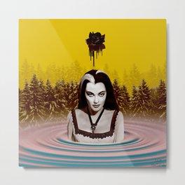 MUNSTER BATH Metal Print
