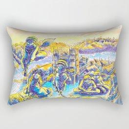 S'en va t'en Queste Rectangular Pillow