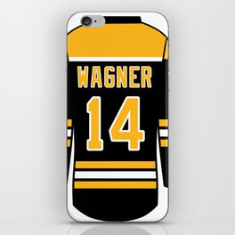 Chris Wagner Jersey iPhone Skin