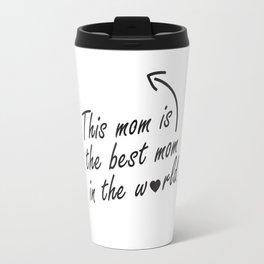 Mom <3 Travel Mug