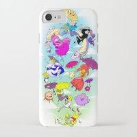 umbrella iPhone & iPod Cases featuring Umbrella by Natalie Nardozza