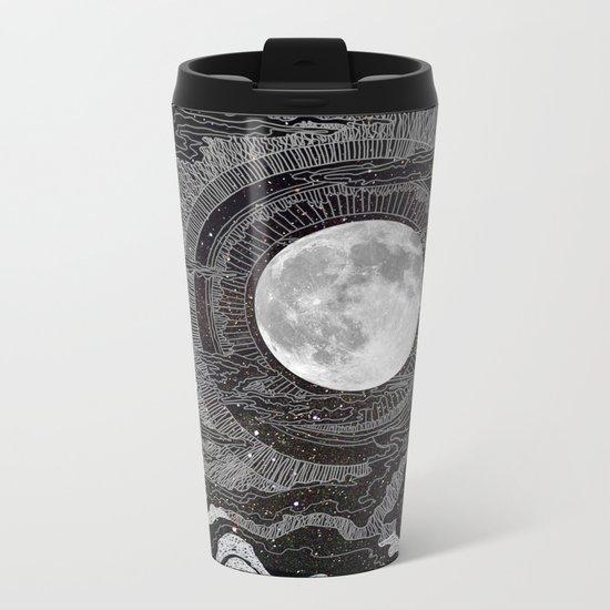 Moon Glow Metal Travel Mug