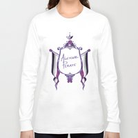 asexual Long Sleeve T-shirts featuring Asexual Pirate by armouredescort
