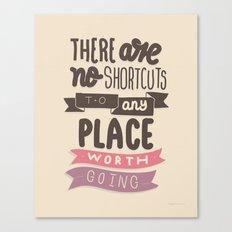 Shortcut Canvas Print