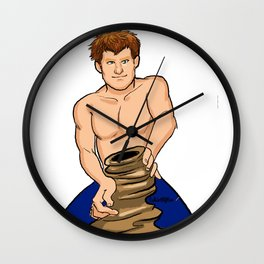 Harry the Potter Wall Clock