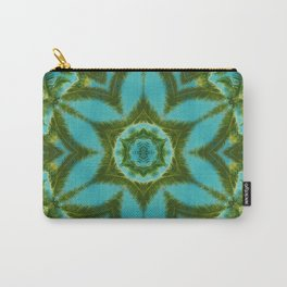Palm Mandala (on blue sky) #1 Carry-All Pouch