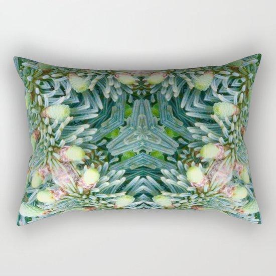 Christmas Garland Rectangular Pillow