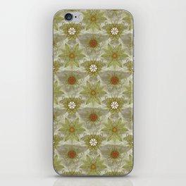 Vintage English Garden Pattern iPhone Skin
