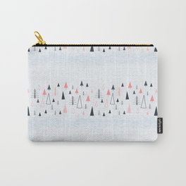 Abstract Winter Landscape Pattern Carry-All Pouch