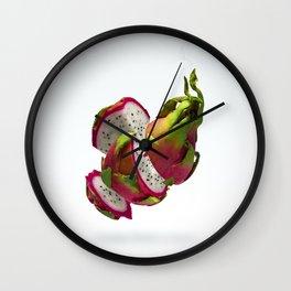 Flying Dragon Fruit Wall Clock