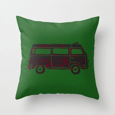 Vintage Adventure Throw Pillow