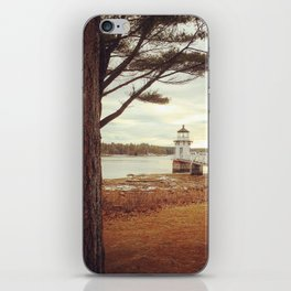 Doubling Point - Maine Lighthouse iPhone Skin