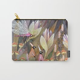 Flower Elves Carry-All Pouch