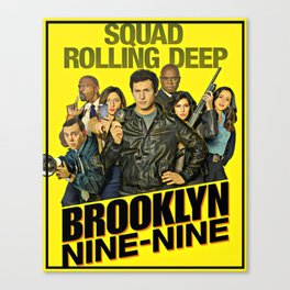 Brooklyn nine nine Canvas Print