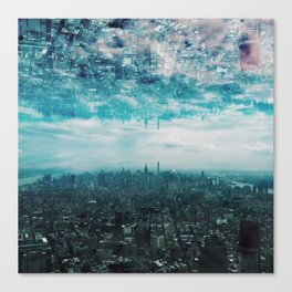 City in the Sky Canvas Print