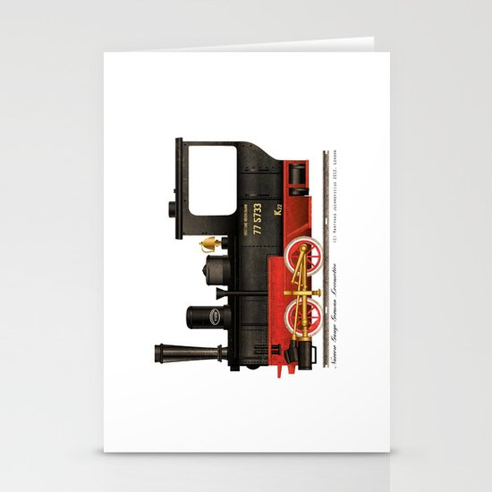 Locomotive  Stationery Cards
