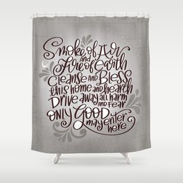 Witchy Blessing Shower Curtain