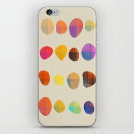 Painted Pebbles 4 iPhone Skin