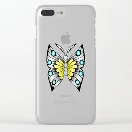 """""""I Dreamt I was a Butterfly"""" Clear iPhone Case"""