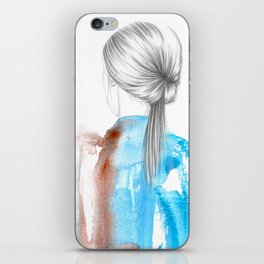 I DON'T LOOK BACK iPhone Skin