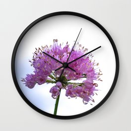 Color Botanical 4 Wall Clock