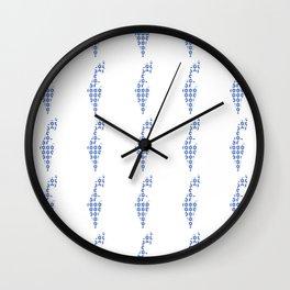 flag of israel 5-יִשְׂרָאֵל ,israeli,Herzl,Jerusalem,Hebrew,Judaism,jew,David,Salomon. Wall Clock