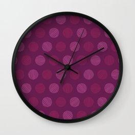 Dots and dots Wall Clock