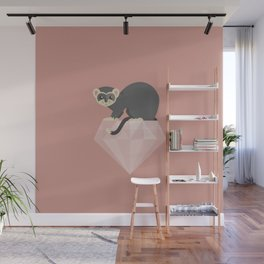 14 Ferret Diamond Wall Mural