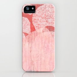 Catalogue - Graphic Abstract Geometric Print in Pink iPhone Case