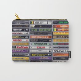 Old School 80's and 90's Hip Hop Tapes v2 Carry-All Pouch