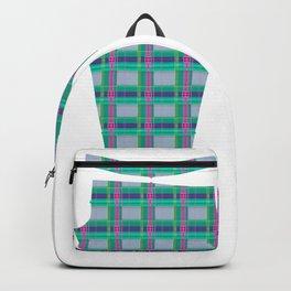 Ugh Plaid Backpack