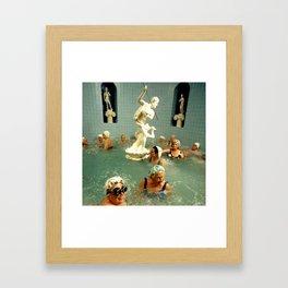 Rub A Dub Dub Oldie Hawn In Da Tub Framed Art Print