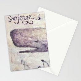 São Jorge Baleia (Whale) Stationery Cards