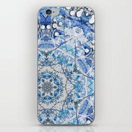 Blue Flake iPhone Skin