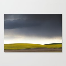 Rain's Coming Canvas Print