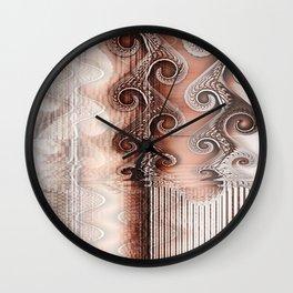 Dead Leaf Echo Wall Clock