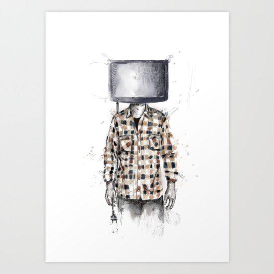 unplugged 2.0 Art Print