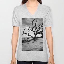 Driftwood Beach Unisex V-Neck