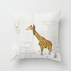 Natural Decorative Thophy Throw Pillow