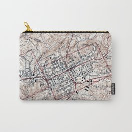 Vintage Map of Chapel Hill North Carolina (1946) Carry-All Pouch