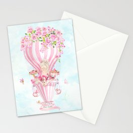 Marie Antoinette High Tea Stationery Cards