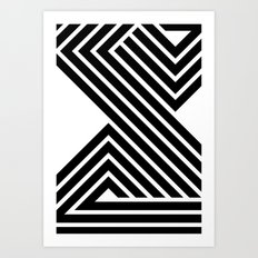 Starlines 03. Art Print
