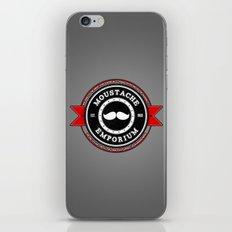 Moustache Emporium iPhone & iPod Skin